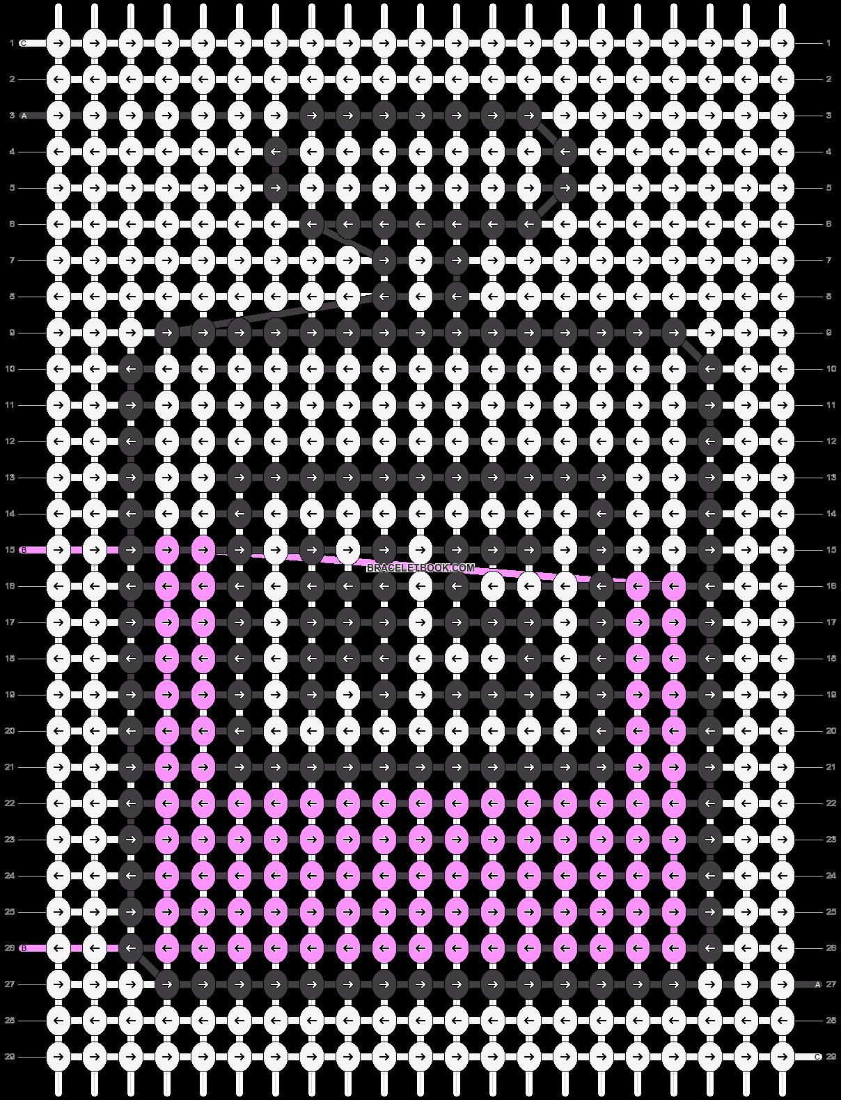 Alpha pattern #47511 variation #166339 pattern