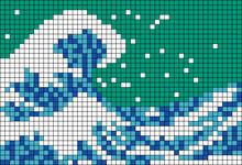 Alpha pattern #91762 variation #166364