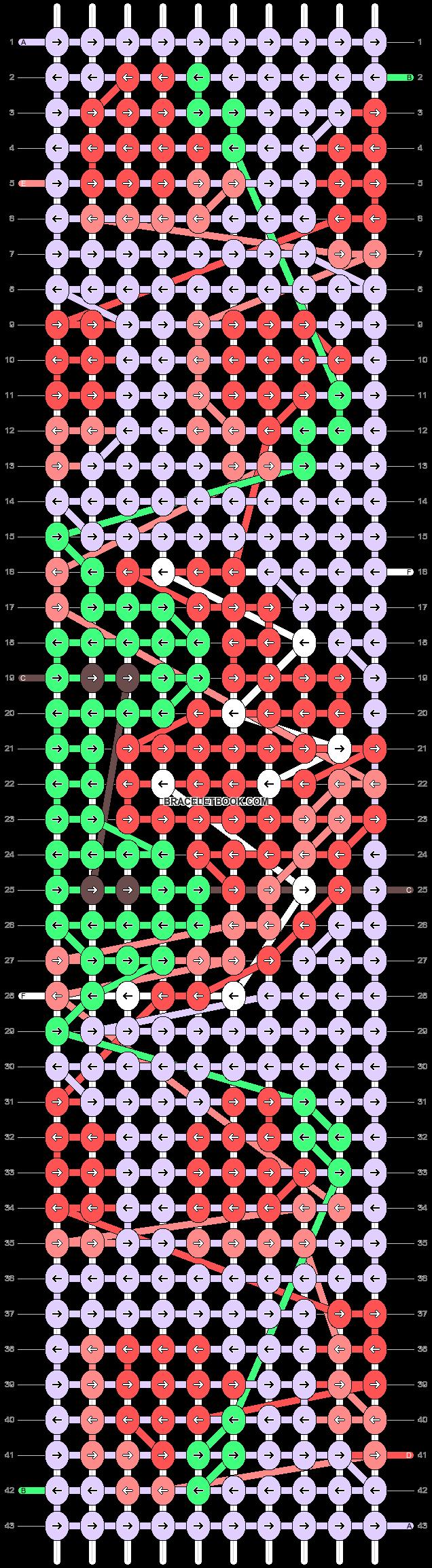 Alpha pattern #91701 variation #166561 pattern