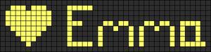 Alpha pattern #3539 variation #166833