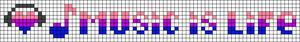 Alpha pattern #7393 variation #166853