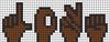 Alpha pattern #35454 variation #167024