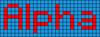 Alpha pattern #696 variation #167451