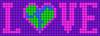 Alpha pattern #85678 variation #168762