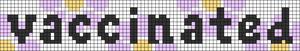 Alpha pattern #93279 variation #169481
