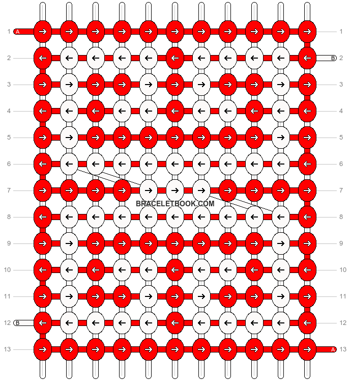 Alpha pattern #93619 variation #170258 pattern