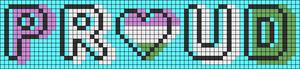 Alpha pattern #83226 variation #170260