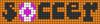 Alpha pattern #60090 variation #170556