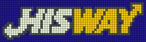 Alpha pattern #9498 variation #171379