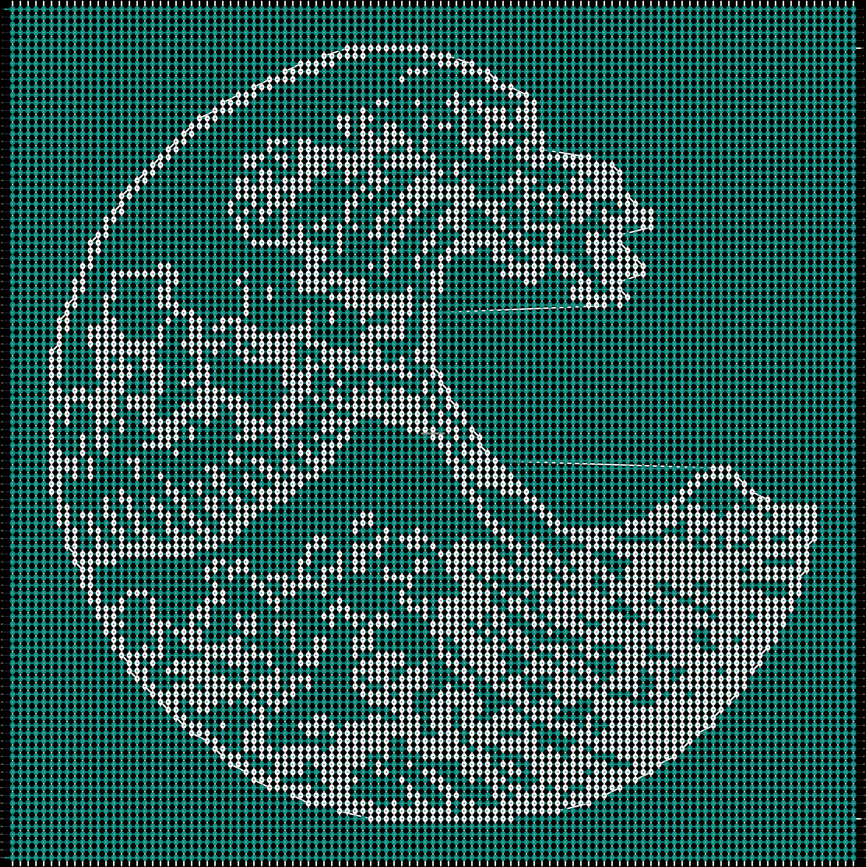 Alpha pattern #43504 variation #171650 pattern