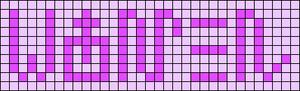 Alpha pattern #94941 variation #172889
