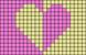 Alpha pattern #75653 variation #174153