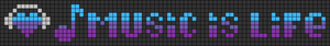 Alpha pattern #7393 variation #178579