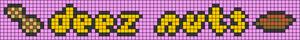 Alpha pattern #82079 variation #179030