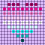 Alpha pattern #4251 variation #179222