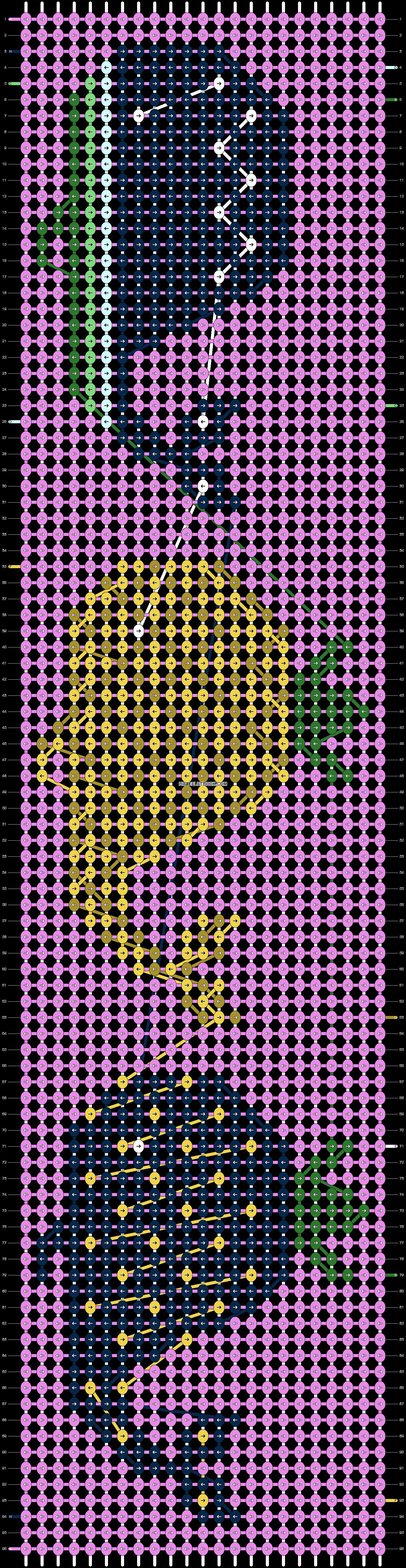 Alpha pattern #95741 variation #179792 pattern