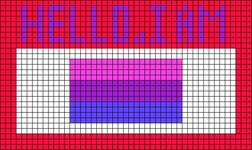 Alpha pattern #50383 variation #179873