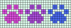 Alpha pattern #9730 variation #180260