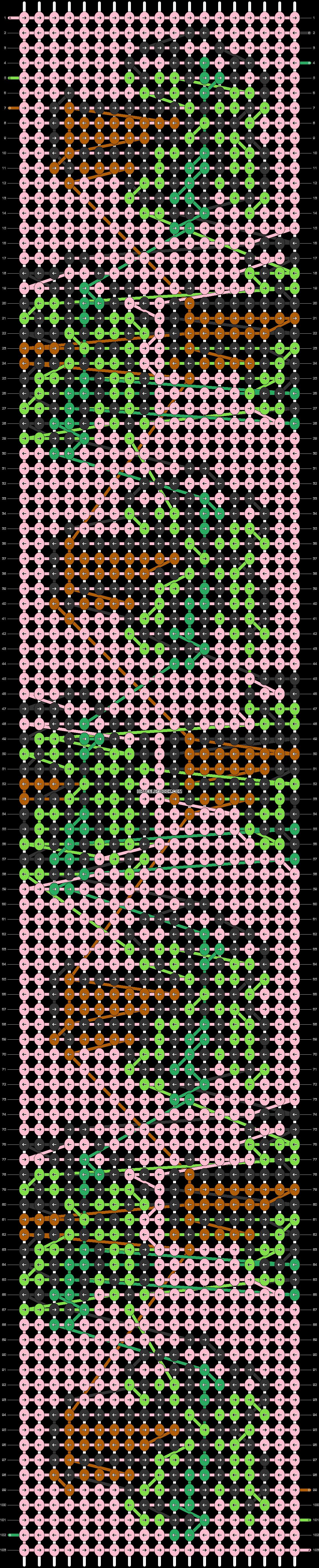 Alpha pattern #87441 variation #180777 pattern