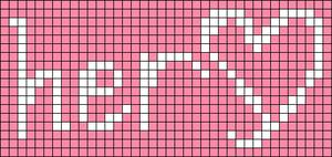Alpha pattern #18290 variation #181602