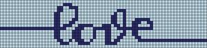 Alpha pattern #97371 variation #181905