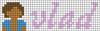 Alpha pattern #95486 variation #182748