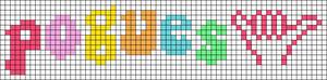 Alpha pattern #95254 variation #184159