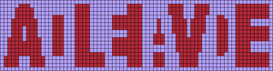 Alpha pattern #100277 variation #184305