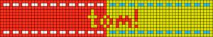 Alpha pattern #92496 variation #186259
