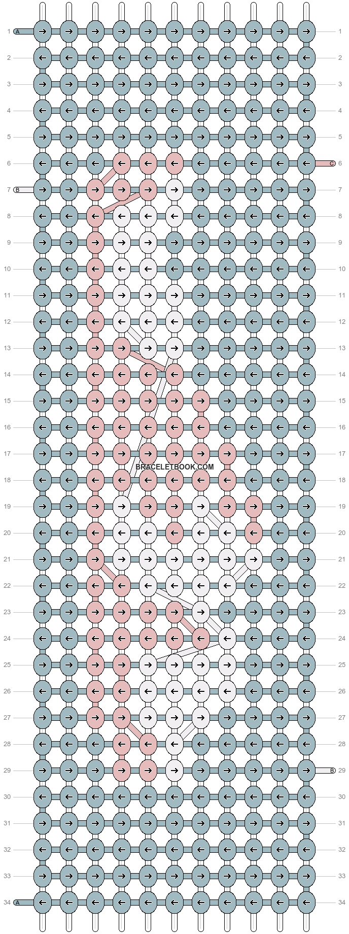 Alpha pattern #71894 variation #187400 pattern