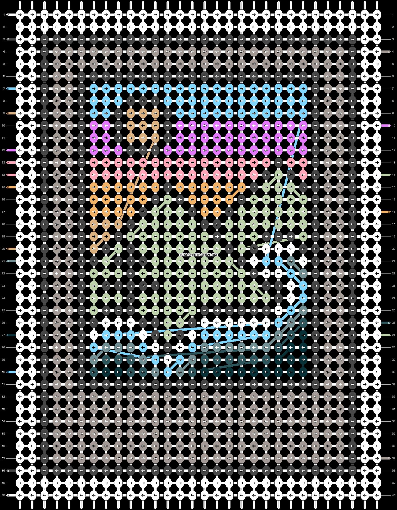 Alpha pattern #96672 variation #187883 pattern