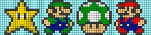 Alpha pattern #8487 variation #193406