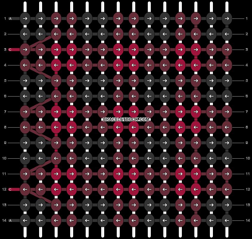 Alpha pattern #11574 variation #196168 pattern