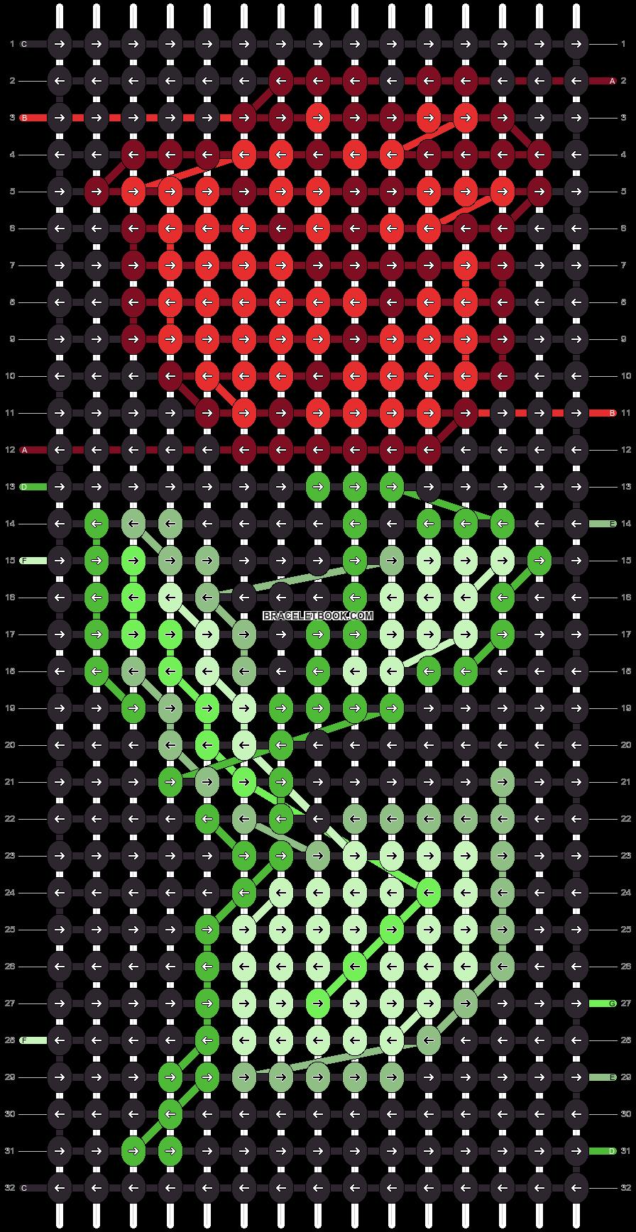 Alpha pattern #74406 variation #196371 pattern