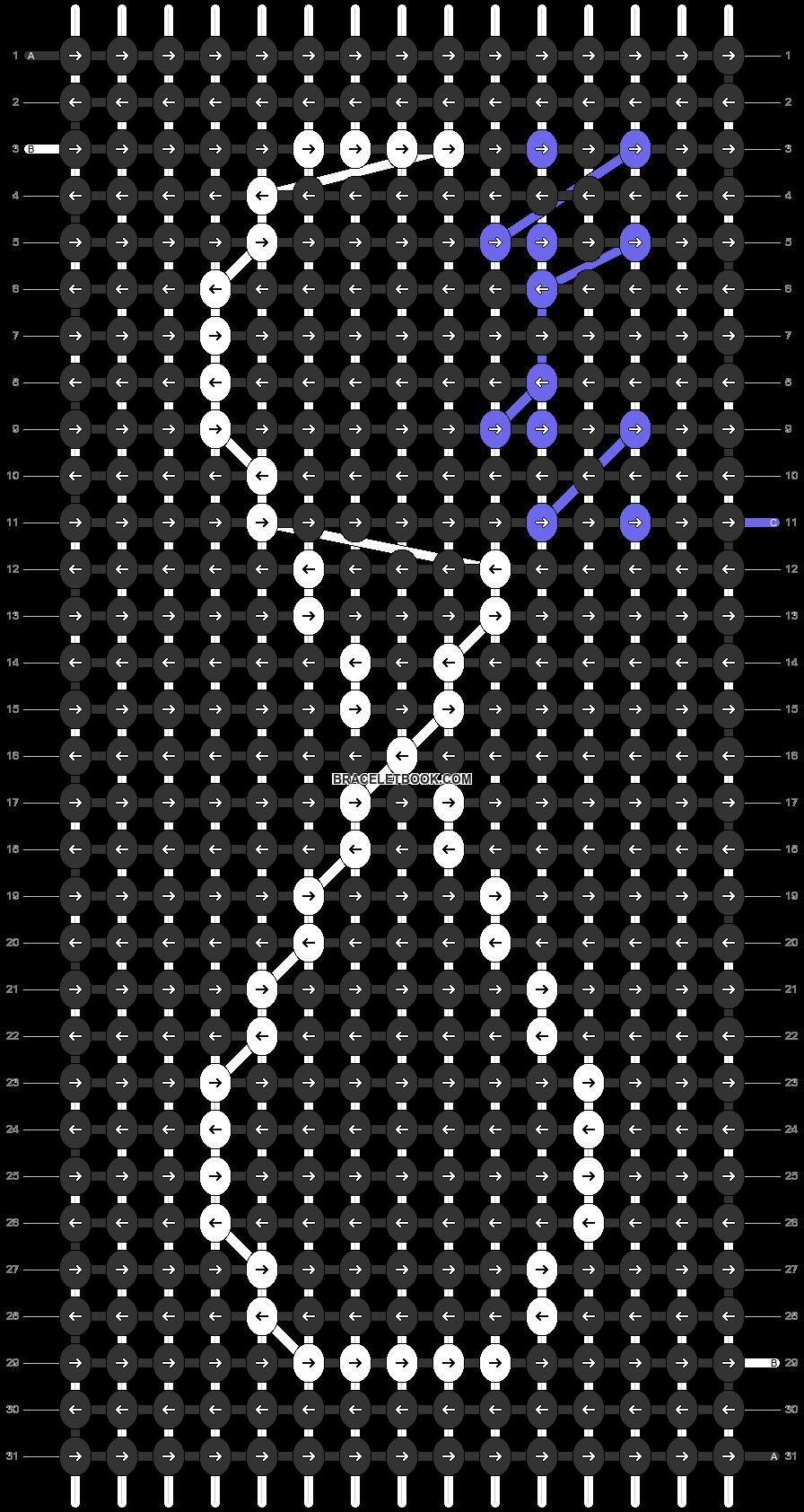 Alpha pattern #83898 variation #196378 pattern
