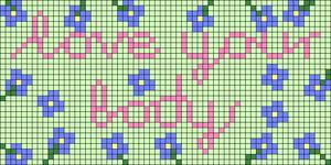 Alpha pattern #107429 variation #196568