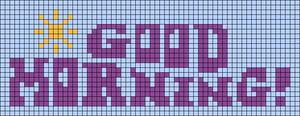 Alpha pattern #104723 variation #197793